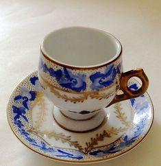 Vintage Palais Royal Miniature Tea Cup Limoges Style