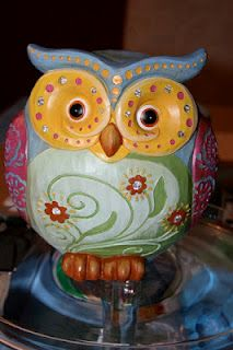 Night Owl party ideas, great site!  I just bought 2 of these :)