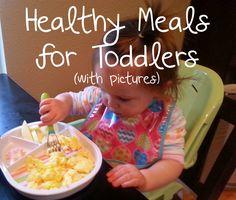 The Semi-Crunchy Momma: Toddler Eats #1
