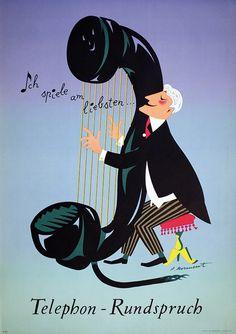 Telephone-Rundspruch by Pierre Monnerat (1951)