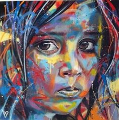 Street art by David Walker
