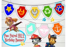 Children's Party Ideas- Paw Patrol Birthday Ideas and Decorations.       It's Faaabb Finds Friday!   I'm going Pup- tacular this week w...