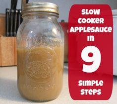 How to Make Slow Cooker Applesauce in Nine Easy Steps | Disney Baby