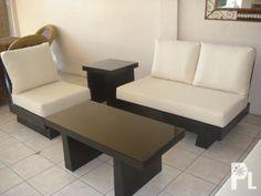 Modern Wood Sofa prescott 6-piece deep seating set polywood | dream home | pinterest