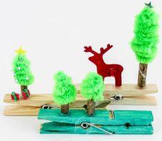 Mini peg scene Christmas Crafts, Triangle, Scene, Mini, Handmade Christmas Crafts, Xmas Crafts, Stage, Christmas Decoration Crafts
