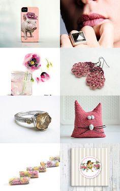 Romantic Blush by Efi on Etsy--Pinned with TreasuryPin.com