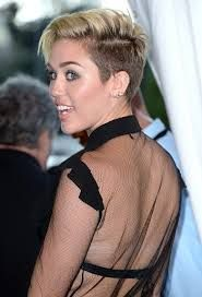 Image result for miley cyrus short hair