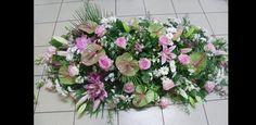 Fleuriste Deuil et obsèques - Composition florale Dessus de cerceuil