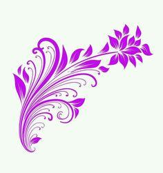 Color Violeta, Vinyl Cutting, Purple Flowers, Artsy Fartsy, Stencils, Cricut, Tattoos, Projects, Brother