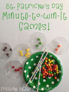 Try these fun games for St. Patrick's Day... kids love them!  (Creating Readers and Writers)