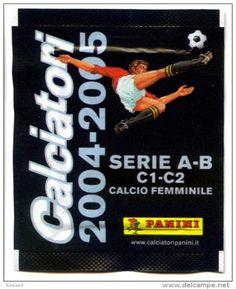 Bustina Calciatori Panini 2004//2005
