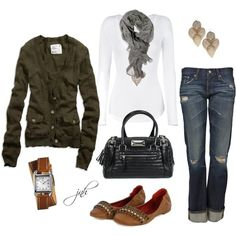 """Cold Spring Day"" by jill-hammel on Polyvore"