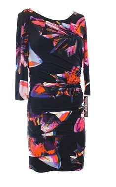 Tahari by ASL Petite Women's Petite Matte Jersey Butterfly Print * You can get additional details at the image link.