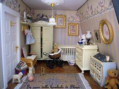 Miniature nursery--I definitely need a big teddy or bunny somewhere
