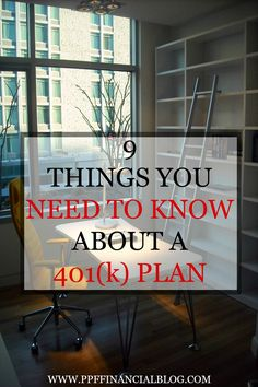 Are you thinking about investing in a 401(k) plan? Investing your money can be a really scary topic. Some people have lost money doing it while others have made a fortune. Regardless of your past experiences with investments you still need to know the types of investments you can make. With a 401(k) you will find pros and cons just like any other investment opportunity. Do you know enough about a 401(k) plan to invest in it? Click above to find out or pin it and read it later.