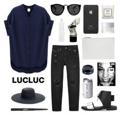 """""""LucLuc 3.3"""" by jesicacecillia ❤ liked on Polyvore featuring moda, Whistles, Monki, Seletti, Chanel, Tommy Hilfiger, Incase, Lord & Berry y SUQQU"""
