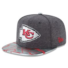 Kansas City Chiefs New Era 2017 NFL Draft Spotlight Original Fit 9FIFTY  Snapback Adjustable Hat - 85d5d882f
