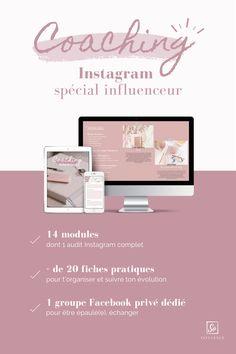 Boost ton compte Instagram et deviens un expert en rejoignant le coaching Instagram spécial Influenceur ! Coaching, Blogging, Training