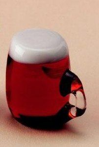 Miniature Beer Mug - Decorating a Dollhouse for St. Patrick's Day