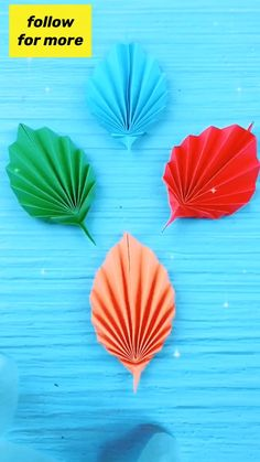 Paper Flowers Craft, Paper Crafts Origami, Diy Crafts For Gifts, Paper Crafts For Kids, Diy Arts And Crafts, Flower Crafts, Diy Paper, Paper Flower Tutorial, Paper Decorations