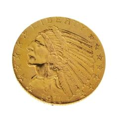 1901 $5 Indian Head Gold Coin - Investment