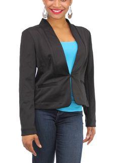 Elementz Blazer, Women's Long Sleeve Jacket