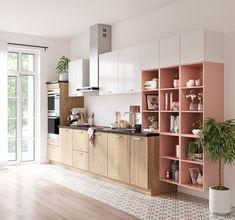 une cuisine ouverte qui s'intègre parfaitement au salon