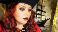 pirate makeup for women - YouTube