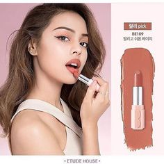Etude House BE109 lipstick