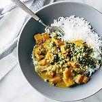 Thaise curry met kokos