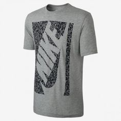 8723948175 Camiseta Nike Men s Nike Shattered Futura Dark Grey Heather  Camiseta  Nike