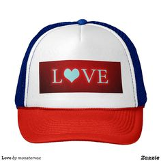 Love Trucker Hat #Love #Heart #Holiday #Valentine #Party #Trucker #Fashion #Hat #Cap