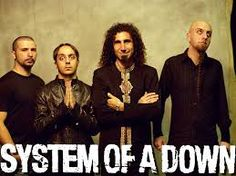 System of a Down <3<3 <3