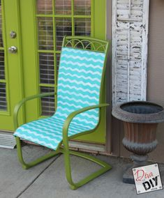 Update Your Tired Patio Furniture with Frog Tape {and Contest!} -