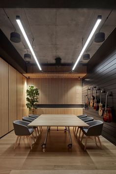 Office Tour: Headquarters of Yamaha Music Australia – Melbourne - office design Industrial Office Space, Industrial Living, Industrial Interiors, Warehouse Office Space, Modern Office Decor, Office Interior Design, Office Interiors, Office Designs, Office Ideas