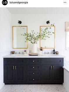 Downstairs bathroom? Or upstairs vanity set-up?
