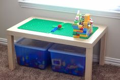 The Loflands: DIY Lego (Duplo) Table!