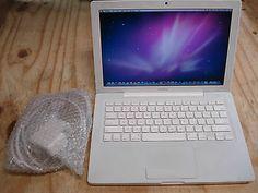 "Apple White 13"" MacBook 2007 Core 2 Duo C2D 2.0Ghz 1GB RAM 80GB HD MB061LL/A"