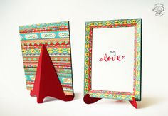 Preserve a message, photo or anything you like, in this cheerful DIY paper Frame! It makes a sweet handmade gift. Add a pop of color to a wall by hanging it, or keep it on a shelf or table. The template includes a desktop stand or easel. The patterns on the frame are inspired by the lovely, but dying, Indian Truck Art form. The template is very easy to make with just scissors and craft knife. It has a slot mechanism, enabling you to easily dismantle and reuse the frame. Assembly instructions…