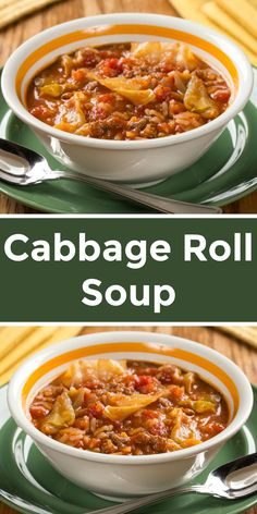 Cabbage Roll Soup is a diabetic-friendly recipe that's full of flavor but not the guilt!