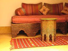 moroccan furniture by الزخرفة المغربية, via Flickr