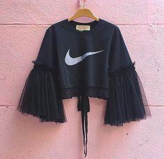Diy Fashion, Ideias Fashion, Fashion Dresses, Womens Fashion, Fashion Design, Teen Fashion, Fashion Fashion, Diy Clothing, Custom Clothes