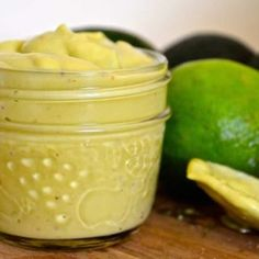 Creamy, rich and smooth Avocado & Lime Dressing. Made in a blender or food processor in minutes! Versatile and delicious. Vegan Avocado Dressing, Oil Free Salad Dressing, Avocado Dip, Plant Based Recipes, Raw Food Recipes, Vegetarian Recipes, Vegan Food, Healthy Menu, Healthy Eating