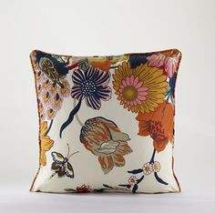 I want this pillow on a navy blue couch. Love.