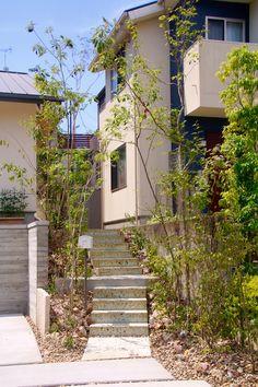 緑のトンネルを抜けるアプローチ。 Gallery, Garden, House, Japanese, Garten, Roof Rack, Home, Japanese Language, Lawn And Garden