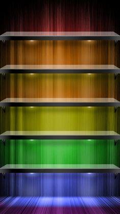 Shelf IPhone Wallpaper 6