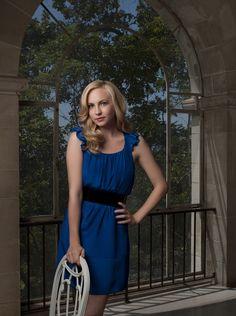 Vampire Diaries TG4 Medium publicity shot of Candice Accola as Caroline