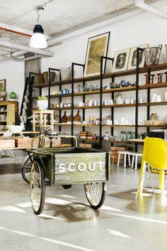 Australie / Scout House boutique déco /