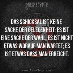 #Motivation: Der perfekte Moment auf den du wartest - er wird nie kommen. Du musst ihn ERSCHAFFEN. - www.AesirSports.de