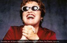 "Thursday, Jan. 18, 2018  Diane Schuur Quartet Featuring Ernie Watts/Bill Charlap Trio: ""Somewhere"" Fox Theatre, 7:30 p.m. - Tucson Jazz Festival - Tucson, Arizona"